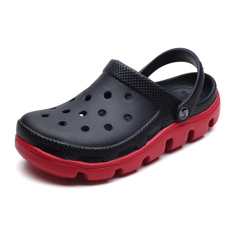6bf72d9c6e943 A Mens Shoes Men Sandals 2019 crocse Clogs Sandalias Hombre homem Shoe croc  Sandles Beach Sandals Men Shoes for Summer Big Size