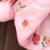 Jaqueta de inverno Para Baixo Para Crianças Meninas Com Capuz Crianças Menina Engrossar Quente Casaco Parkas Florais Do Bebê do Sexo Feminino Roupas Casuais Outwear