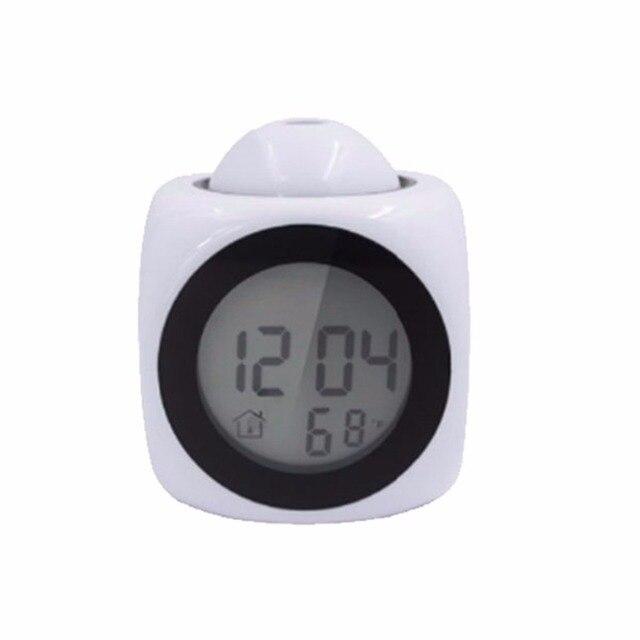 LED Display Time Digital Alarm Clock 5