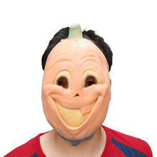 compuda masquerade mask party scary flesh latex incisors pumpkin halloween mask costume prop fancy dress30 gift drop shipping