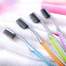 Vaclav 4Pcs/Pack Bamboo Charcoal Toothbrush Portable Travel Tooth Brush Nano Toothbrushes Escova De Dente Soft Bristle