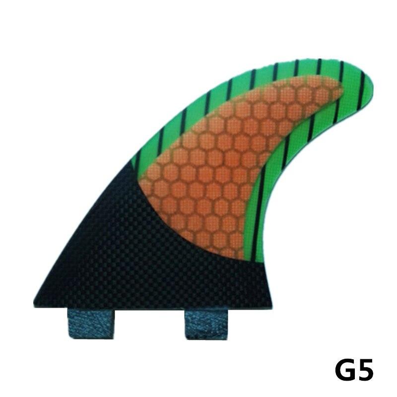 MOYLOR FCS G5 Surf Surfboard fin Tri Ensemble En Fiber De Verre Plat Feuille Gouvernail Surf Srufing Ailettes Tri-ensemble F