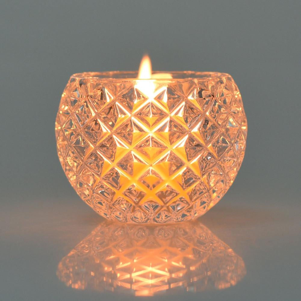 Unique Candle Holders: Clear Crystal Votive Candle Holder Unique Tea Light