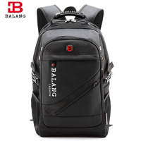 BALANG Brand High Quality Laptop Backpack For Men Women Waterproof Travel Backpack Casual Notebook Bags