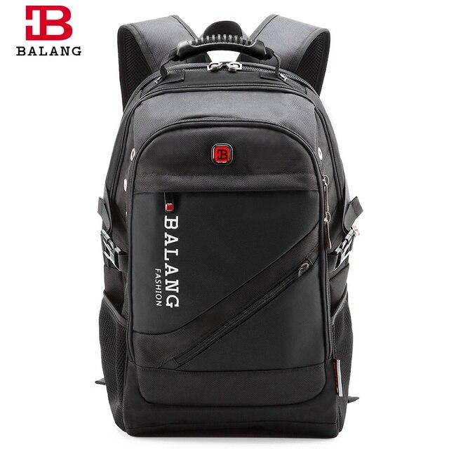 BALANG Brand High Quality Laptop Backpack for Men Women Waterproof ...