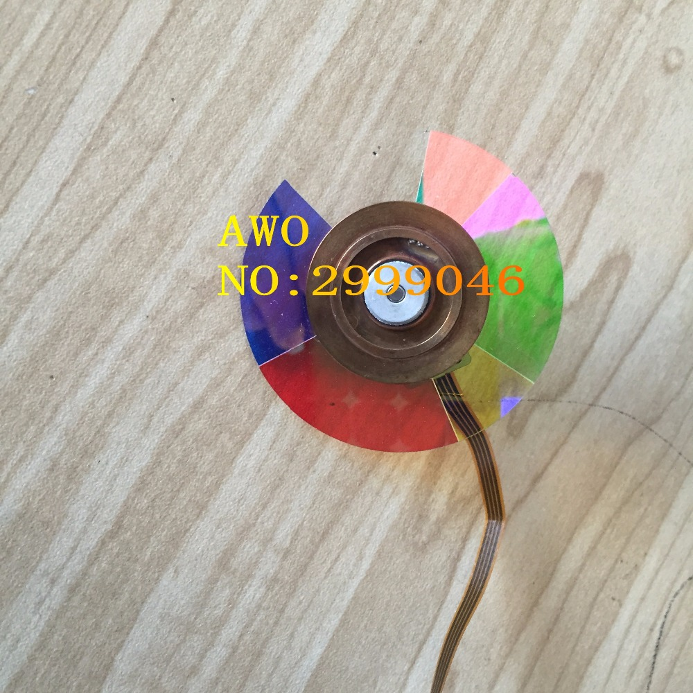 NEW Original REPLACEMENT Projector color wheel For Vivitek d795wt color wheel(54MM) DLP Projector 100% new original projector color wheel for benq w710st wheel color