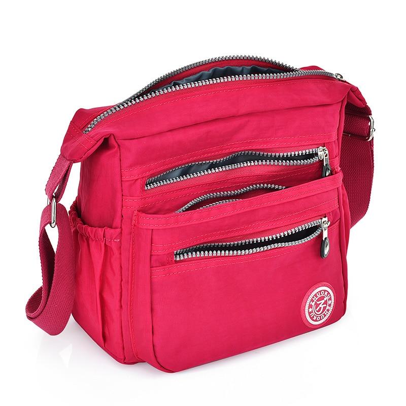 Nylon Women Messenger Bags Small Purse Shoulder Bag Female Crossbody Bags Handbags High Quality Bolsa Tote Beach