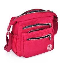 Нейлоновая женская сумка-мессенджер, маленький кошелек, женская сумка через плечо, сумки высокого качества, Bolsa Tote, пляжная сумка