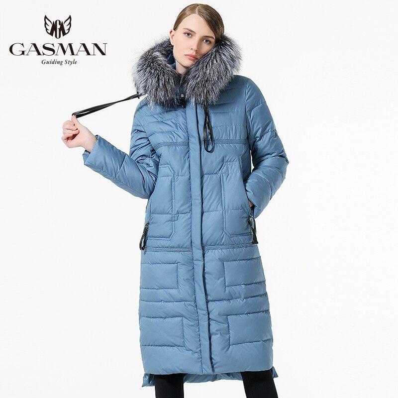 2017 Femmes D'hiver long Manteau Femme Vers Le Bas Parka De Mode Coupe-Vent Épaississement Bio Vers Le Bas Veste Avec Vraie Fourrure, Plus La Taille 5XL 6XL