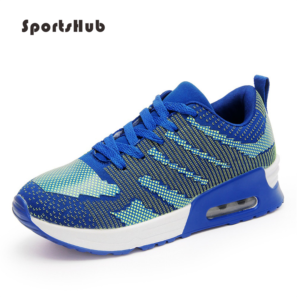$38.54 SPORTSHUB Autumn Ultralight Breathable Lady Running Shoes For Girls Lace-up Women's Sport Shoes Mesh Antislip Sneakers S0015