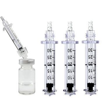 50pcs 0.3ml hyaluronique pen Syringe lip injection Ampoule for hialuron pen lip filler wrinkle removal water injection syringe 2019 new 0 5ml free tariff to germany hyaluron pen atomizer wrinkle removal water syringe needle free injection needless ampule