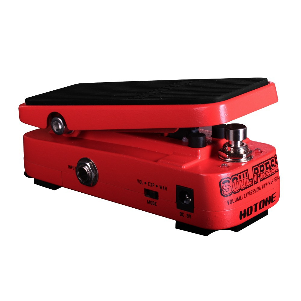 Hotone Soul Press Volume/Expression/Wah Wah Guitar Pedal CRY BABY SOUND vox wah v847 a