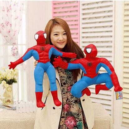 30 cm The Avengers Spiderman Brinquedos de Pelúcia Dos Desenhos Animados do homem-Aranha de Pelúcia Boneca Figuras de Ação Colecionáveis Brinquedos Modelo Crianças Presentes