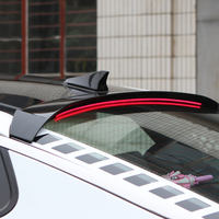 ABS Plastic Unpainted Color Rear Trunk Boot Wing Rear Lip Roof Spoiler With Brake Light For Kia K5 Optima 2016 2017 2018