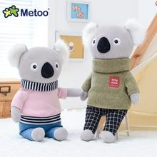 32cm Bear Panda Kawaii Stuffed Plush Animals Cartoon Kids Toys for Girls Children Baby Birthday Christmas Gift Metoo Doll