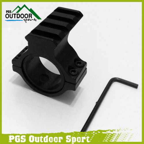 30mm Ring Scope Flashlight Mount Adaptor Clamp With 20mm Weave Picatinny Rail