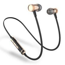 เสียงแหล่H6บลูทูธหูฟังกีฬาทำงานกับไมค์ไร้สายHIFIหูฟังเบสชุดหูฟังบลูทูธสำหรับiPhone Xiaomi MP3