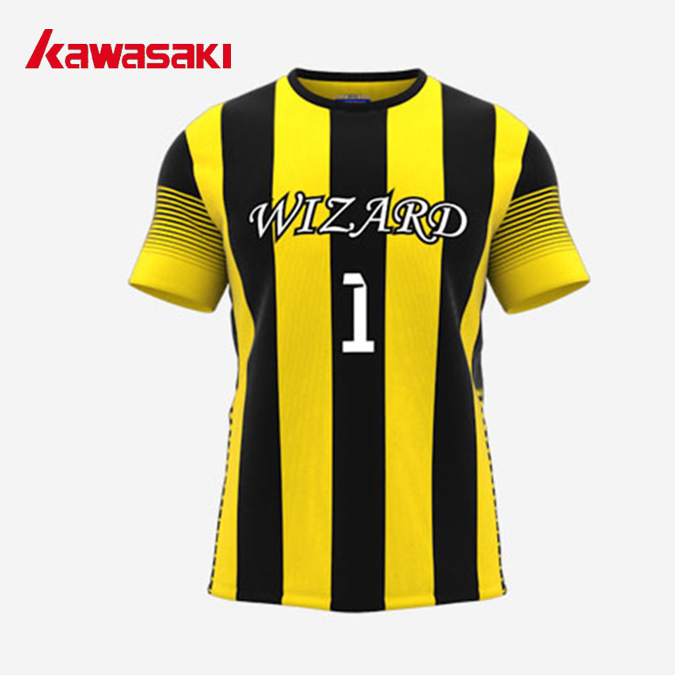 ac4d796b1 Kawasaki Custom Men's Soccer Jersey Sports Shirt Sublimation Youth  Polyester Breathable Practice Training Football Top Jerseys