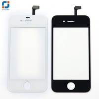 Front Lens LCD Protector Digitizer Touch Screen Glass For IPhone5G 5S 5C 5C Replacement