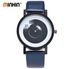 MINHIN, студенческие креативные часы, пара влюбленных, кварцевые наручные часы, подарок, стильные, без иглы, модный дизайн, женские спортивные часы