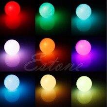 1PC 3W E27 AC 85-265V RGB LED Light Bulb Lamp Color Changing+IR Remote Control Light Bulbs
