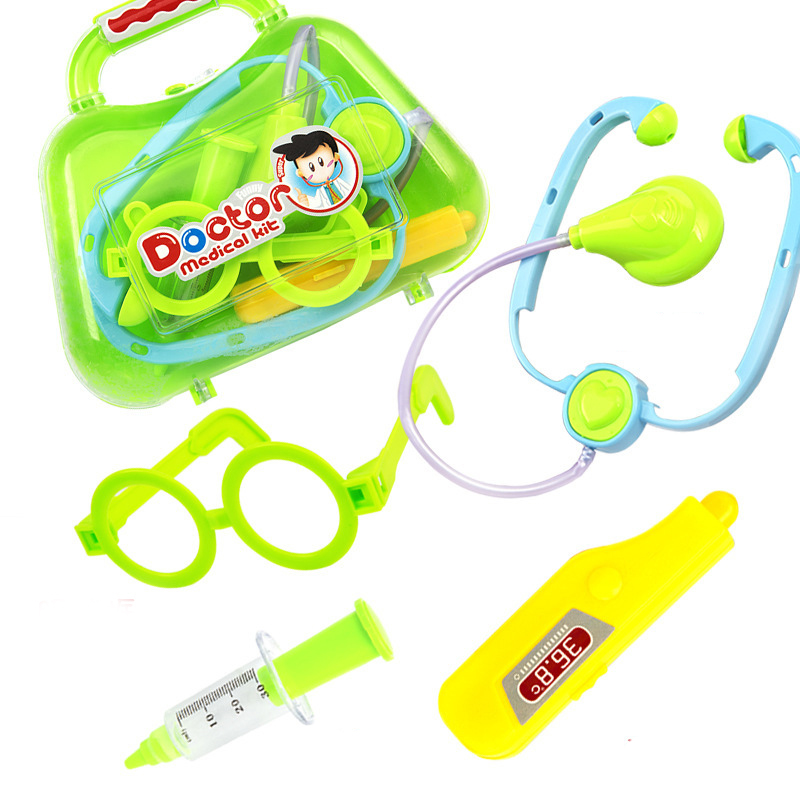 doctor play set for kids doctor play set medical toy doctor playset toy stethoscope Glasses needle childrens suitcases toys