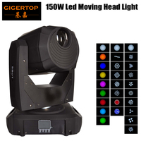 Gigertop TP L658 150W Led Moving Head Spot Light 16 /14channel DMX 512 Control LED Display 3 Facet Prism Cheap Price 110V 220V