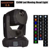 Gigertop TP L658 150W Led Moving Head Spot Light 16 /14channel DMX 512 Control LED Display 3 Facet Prism Cheap Price 110V 220V