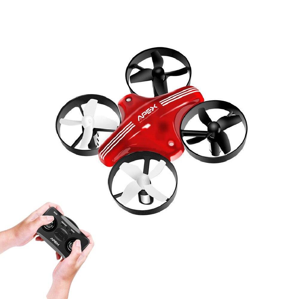 ÁPICE Mini Drone RC Quadcopter Drones de Corrida Modo Headless Com Hold Altitude RC Quadrocopter Aviões de Controle Remoto Brinquedos Dron