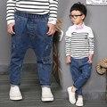 Мода 2017 весна детские мальчики джинсы брюки дети джинсы мальчики джинсовые брюки мода 2-8years дети повседневные брюки бесплатная доставка