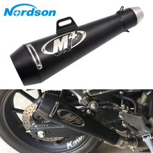 Nordson Motorcycle middle Exhaust Pipe For Benelli 600 BN600 BJ600 TNT600 with M4 exhaust eduction pipe Racing Street Bike KTM