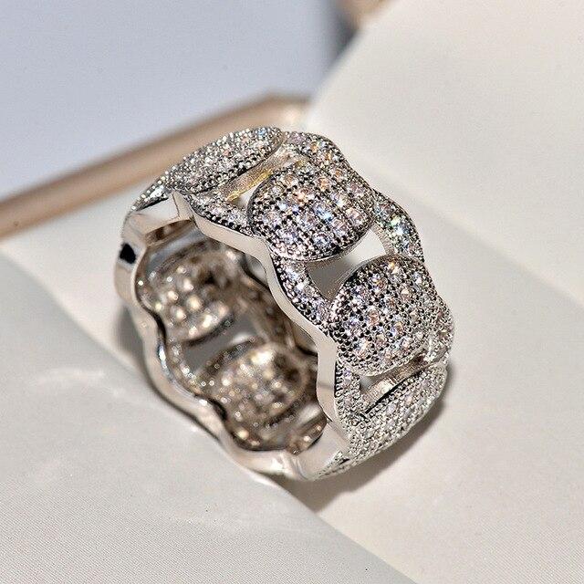 Фото мужские и женские золотые кольца в стиле хип хоп с крупными цена