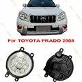 Car styling LED Fog LIGHT Lights  For TOYOTA PRADO  2008-2011  drl lamps  1 SET  BLUE  WHITE YELLOW  Refit