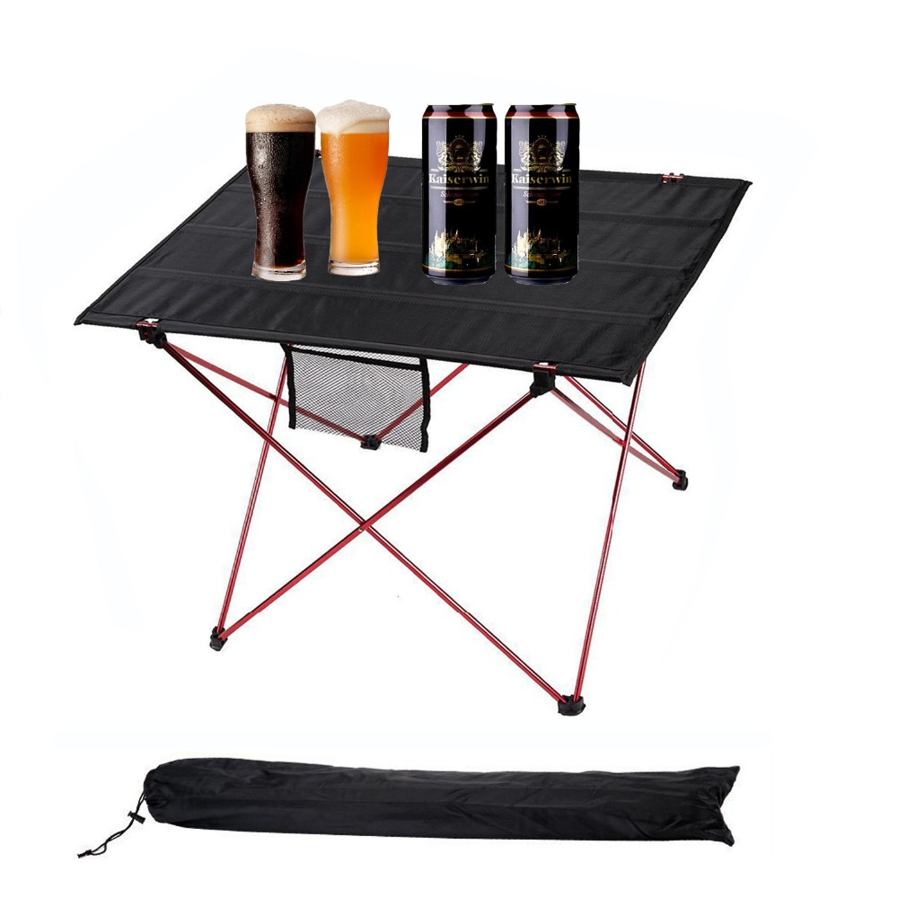 Outdoor camping table camping aluminium alloy picnic table for Table camping