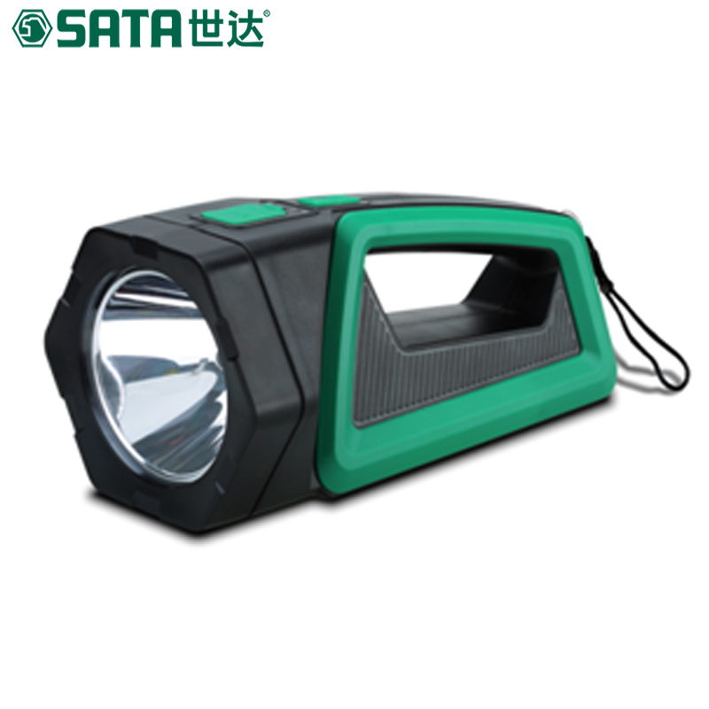 Portable spotlight lantern searchlight rechargeable waterproof hunting spotlight for outdoor camp use high power portable spotlight lantern searchlight rechargeable waterproof hunting spotlight built in battery