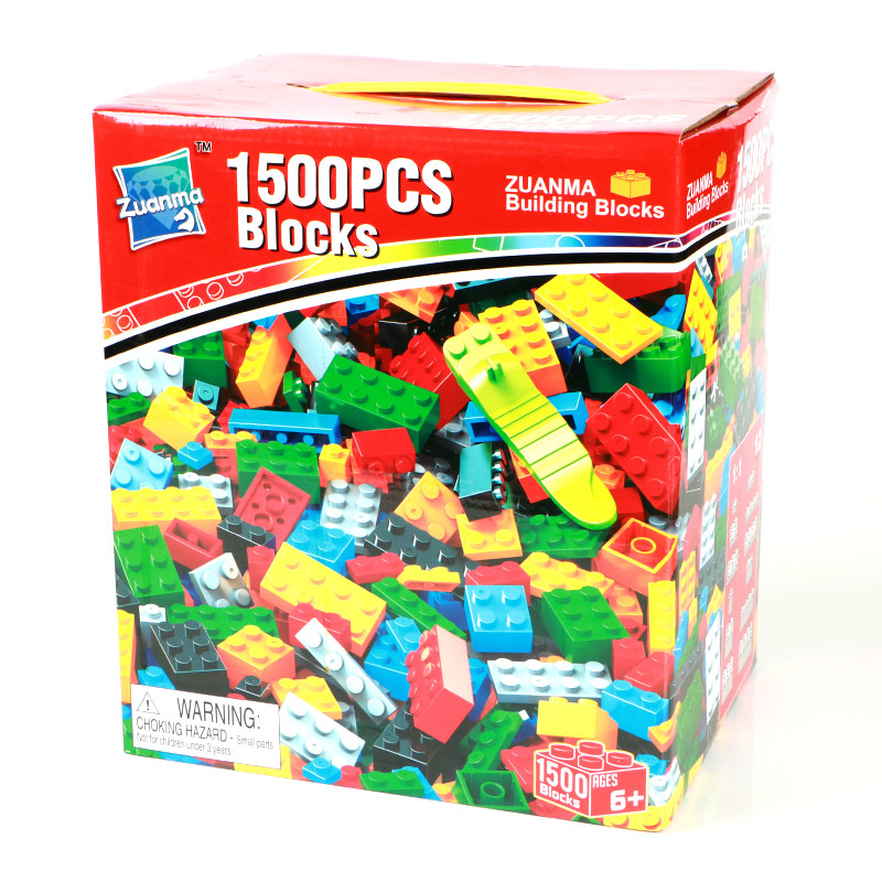1500Pcs Basics Building Blocks Bricks Set City DIY Creative Bricks Toy Christmas gifts Educational Compatible With Brand Blocks 1000pcs bulk bricks educational children toy compatible with major brand blocks 10 colors diy building blocks creative bricks