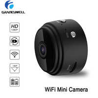 WiFi  Mini Camera 1080P Security Camera Indoor Small Camera Built-in Battery Chargeable Night Vision for iPhone Android PC iPad