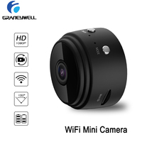 WiFi Mini Camera 1080P Security Camera Indoor Small Camera Built in Battery Chargeable Night Vision for iPhone Android PC iPad