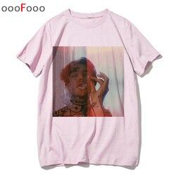 Lil peep t shirt rap raper hip hop Lil Peep. Cry Baby koszulka tshirt top tee shirty męskie śmieszne koszulki z krótkim rękawem tshirt mężczyzn mężczyzna/kobiety drukowane 4