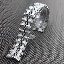 Высококачественные Мужские Часы Из Нержавеющей Стали Группа Браслет Металлический Ремешок 20 мм