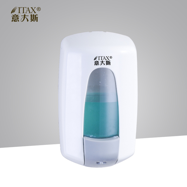 X 2251 Fill 1000ml Shampoo Lotion Manual Hand Soap Dispenser Wall Mounted Abs Plastic