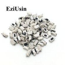 EziUsin 100 Chiếc Micro Lược Công Tắc Cảm Ứng 3*6*3.5 3X6X3.5 SMD Cho MP3 MP4 Máy Tính Bảng Nút Tai Nghe Bluetooth Điều Khiển Từ Xa