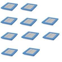 10 шт. воздушные фильтры для Briggs и Stratton 491588 491588 S 5043B 5043D 399959 119 — 1909