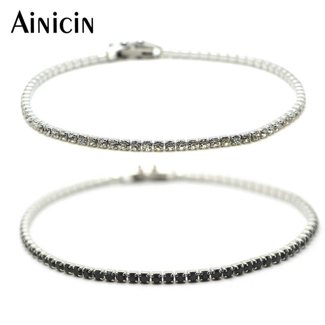 High Quality 2mm Wide 7 5 Length Stainless Steel Crislu Tennis Bracelet Lovely Gift For