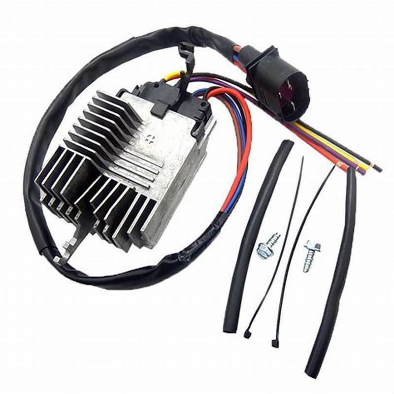 Module de commande de ventilateur de radiateur pour 02-09 Audi A4 A4 Quattro Cabriolet 8E0959501AG