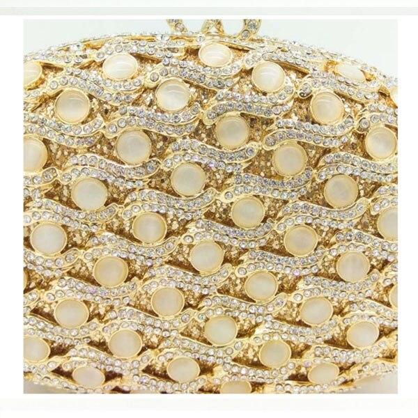 Main Strass Dur Diamant Femmes À Or De Sacs Boîte Jour Parti Embrayages En Mariage Soirée Cristal Gold Bourse Sac Bolsas 1 Dîner xqSwp6