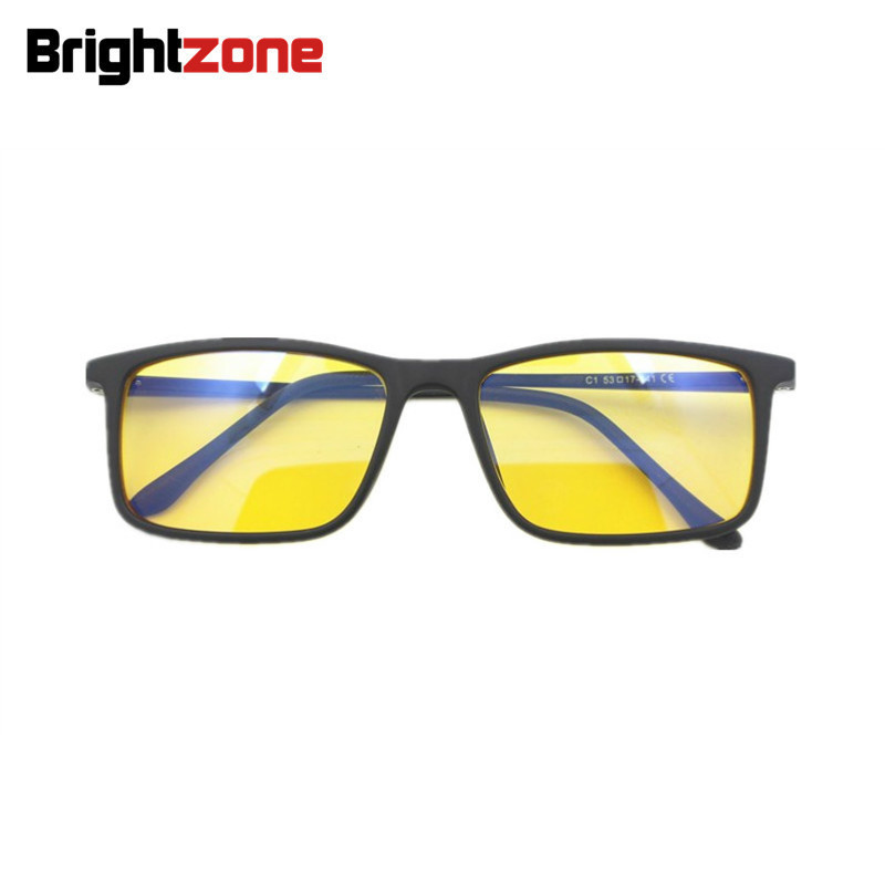 a872a6d00a1b Brightzone New TR90 Rim + Aluminum Legs Blue Light Blocking Glasses ...