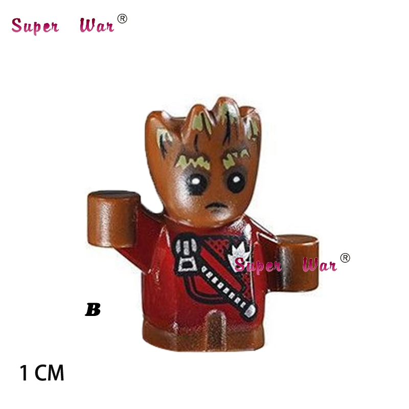 20pcs starwars superhero marvel Guardians of the Galaxy building blocks figure bricks model Collection classic baby toys