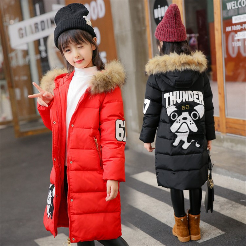 fashion clothing girl winter wadded jacket outerwear child cotton-padded jacket thickening medium-long cotton-padded for kidsfashion clothing girl winter wadded jacket outerwear child cotton-padded jacket thickening medium-long cotton-padded for kids