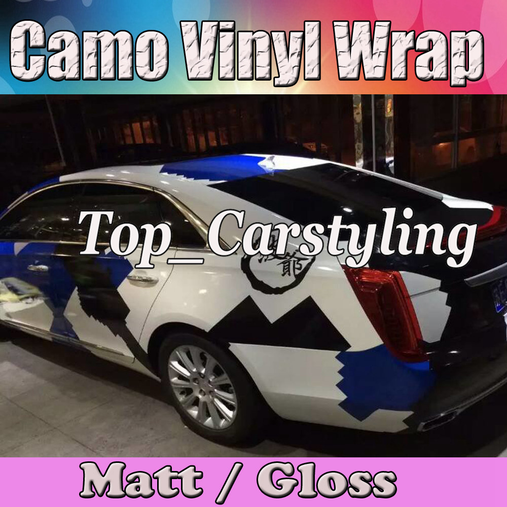 pixel large dazzle camouflage vinyl car wrap sticker film camo vehicle covering with air bubble. Black Bedroom Furniture Sets. Home Design Ideas